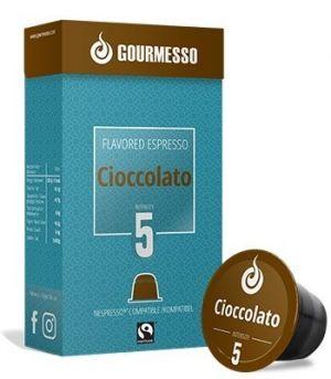 Soffio Cioccolato (čokoláda), Gourmesso– 10kapsúl pre Nespresso kávovary
