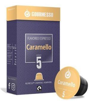 Soffio Caramello (karamel), Gourmesso– 10kapsúl pre Nespresso kávovary