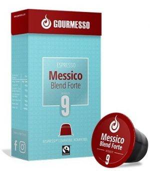 Messico Blend Forte Fairtrade, Gourmesso – 10 kapsúl pre Nespresso kávovary