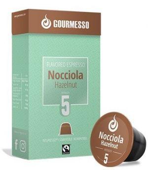 Soffio Nocciola (lieskový oriešok), Gourmesso– 10kapsúl pre Nespresso kávovary