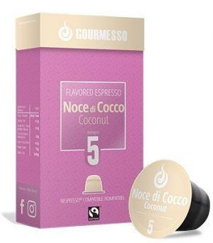 Soffio Noce di Cocco (kokos), Gourmesso– 10kapsúl pre Nespresso kávovary