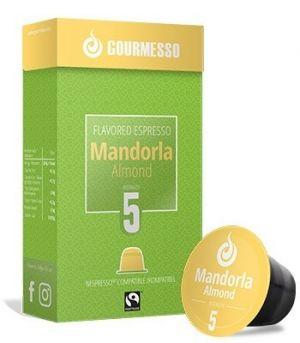 Soffio Mandorla (mandla), Gourmesso – 10 kapsúl pre Nespresso