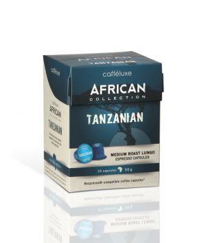 Tanzanian, Cafféluxe African– 10kapsúl pre Nespresso