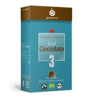Decaf Cioccolato, Gourmesso – 10 kapsúl pre Nespresso kávovary