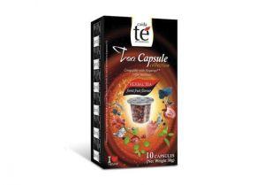 Čaj lesné ovocie, Cuida Té – 10 kapsúl pre Nespresso kávovary