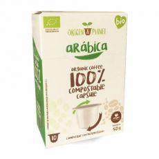 Organic Arábica, Origen Coffee– 10eco kapsúl pre Nespresso kávovary