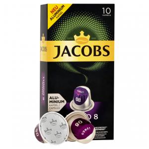 Lungo 8, Jacobs - 10 hliníkových kapsúl pre Nespresso kávovary