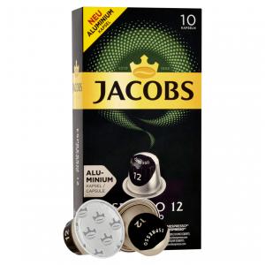 Ristretto 12, Jacobs - 10 hliníkových kapsúl pre Nespresso