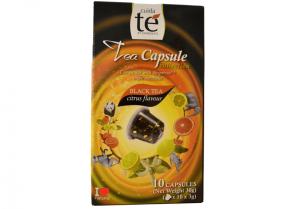 Čaj černý Citrus Flavour, Cuida Té - 10 kapsúl pre Nespresso