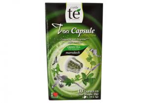 Čaj zelený Marrakech, Cuida Té - 10 kapsúl pre Nespresso kávovary