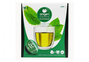 Zelený čaj Marrakech, Origen - 16 kapsúl pre Dolce Gusto