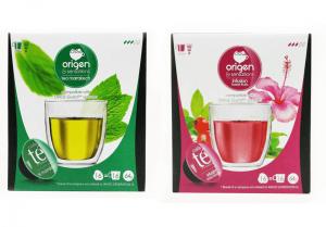 Balíček čajů Origen - 32 kapsúl pre Dolce Gusto