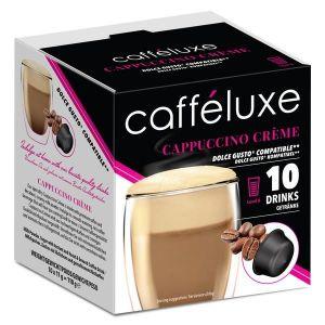 Cappuccino Créme, Cafféluxe - 10 kapsúl pre Dolce Gusto