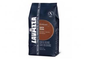 Lavazza Super Crema - zrnková káva 1 kg
