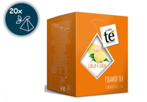 Zázvorový čaj s citrónom, Cuida Té Pura - 20 sáčkov