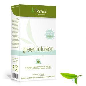 Čaj Gourmesso Green Infusion - 10 kapsúl pre Nespresso kávovary