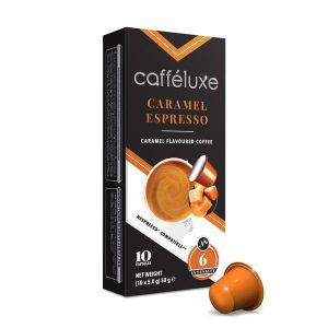 Caramel Coffee, Cafféluxe Signature Range - 10 kapsúl pre Nespresso kávovary