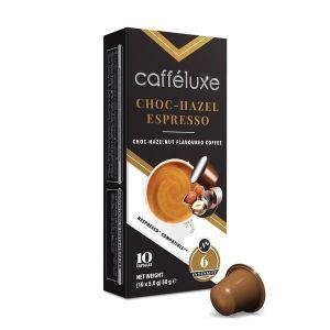 Choc-Hazelnut Espresso, Cafféluxe Signature Range– 10kapsúl pre Nespresso kávovary