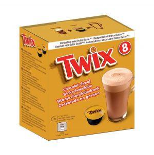 Twix- Horúca čokoláda, Cafféluxe - 8 kapsúl pre Dolce Gusto