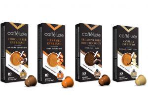 Cafféluxe balíček s príchuťou - 40 kapsúl pre Nespresso kávovary