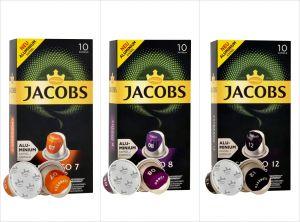 Balíček Jacobs - 30 kapsúl pre Nespresso kávovary