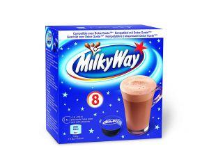 Milky Way - Horúca čokoláda, Cafféluxe - 8 Kapsúl pre Dolce Gusto