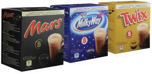 Balíček čokolád s príchuťou - 24 Kapsúl pre Dolce Gusto