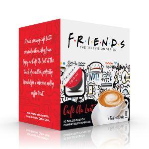 F.R.I.E.N.D.S Cafe Au Lait, Cafféluxe - 10 kapsúl pre Dolce Gusto