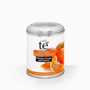 Sypaný ovocný čaj Orange&Papaya, Cuida Té, 100 g