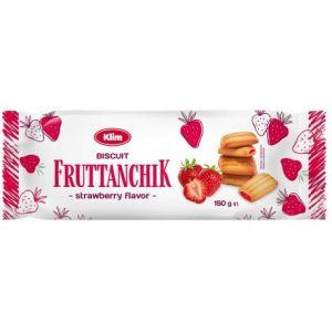 Sušienky Fruttanchik s jahodovou náplňou150 g