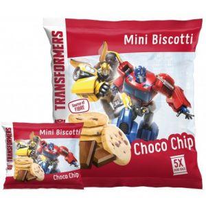 Sušienky Mini Biscotti Transformers s čokoládou 100 g