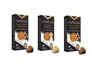 Cafféluxe balíček s príchuťou - 30 kapsúl pre Nespresso kávovary