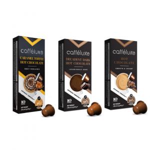 Balíček horúcich čokolád - 30 kapsúl pre Nespresso kávovary