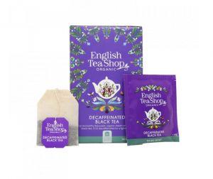 English Tea Shop BIO Bezkofeinový čierný čaj - 20 sáčků