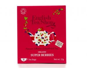 English Tea Shop BIO Super ovocný čaj - 8 sáčkov