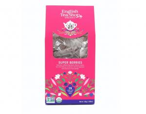 English Tea Shop BIO Super ovocný čaj - 15 pyramídiek