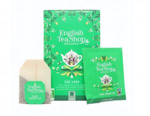 English Tea Shop BIO Zelený čaj - 20 sáčkov