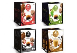 Upraženo - Testovací balíček Origen - 64 kapsúl pre Dolce Gusto kávovar