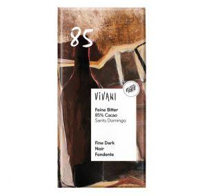 Vivani Horká čokoláda 85 % BIO vegan - 100 g