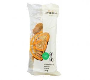 Amarantové sušienky, celozrnné bez vajec a mlieka, Natural - 150g