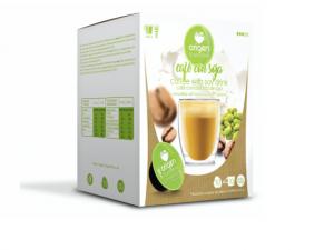 Káva se sojovým mliekom, Origen - 10 kapsúl pre Dolce Gusto