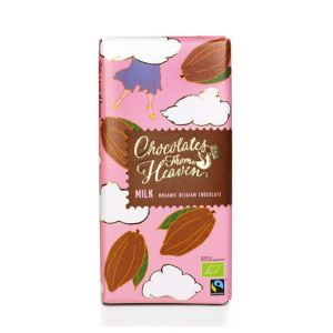 Chocolates from Heaven BIO mliečna čokoláda 37% - 100 g