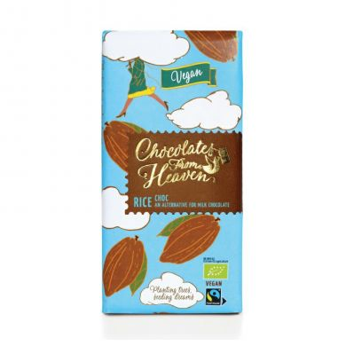 Upraženo - Chocolates-From-Heaven-BIO-ryzova-cokolada-VEGAN-42%-100g