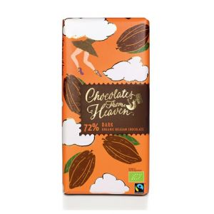 Chocolates from Heaven BIO horká čokoláda 72 % - 100g