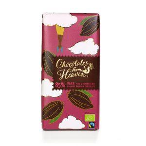 Chocolates from Heaven BIO horká čokoláda Peru a Dominikánska republika 85 % - 100g