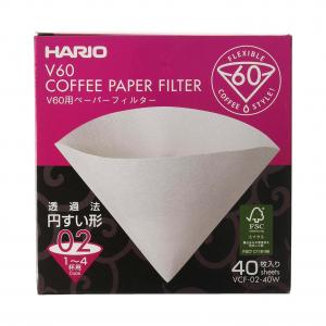 Papírové filtry pro Hario V60-02 - 40 ks