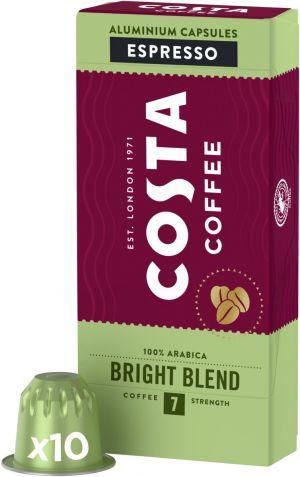 Costa Coffee Bright Blend - 10 kapsúl pre Nespresso kávovary