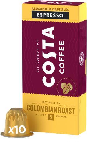 Costa Coffee Colombia Roast - 10 kapsúl pre Nespresso kávovary
