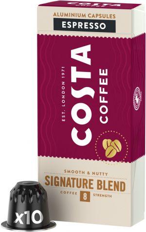 Costa Coffee Signature Blend Espresso - 10 kapsúl pre Nespresso kávovary