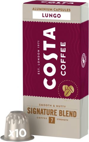 Costa Coffee Signature Blend Lungo - 10 kapsúl pre Nespresso kávovary